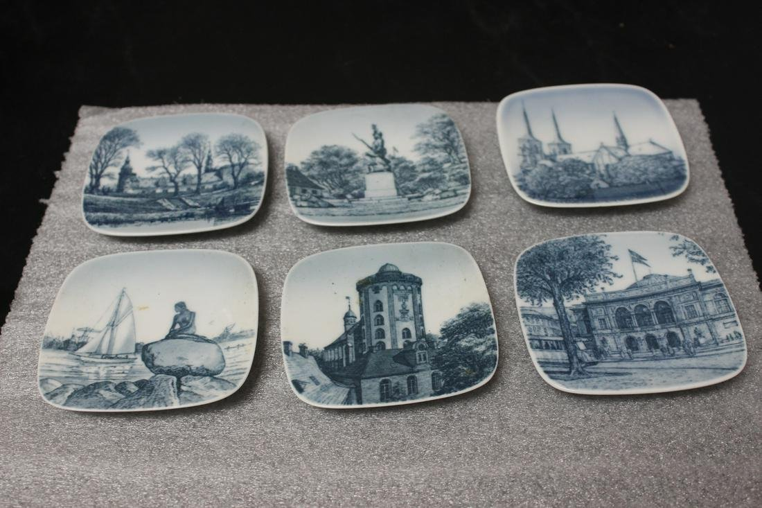 Set of 6 B&G Square Dishes