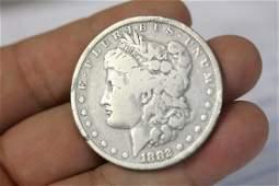 An 1882O Morgan Silver Dollar