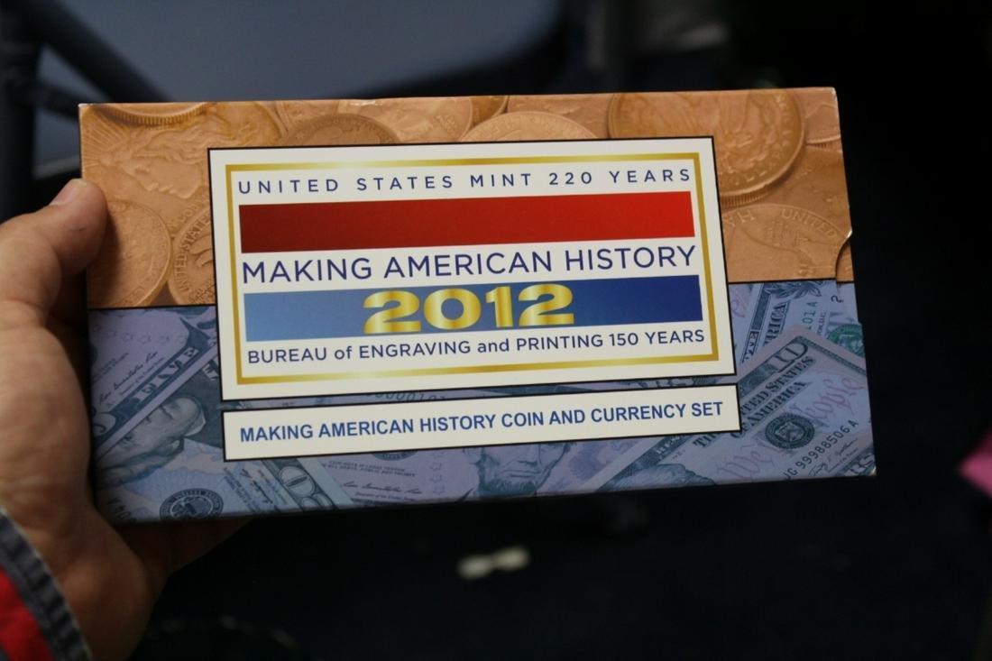 220 Years Making American History 2012 Set