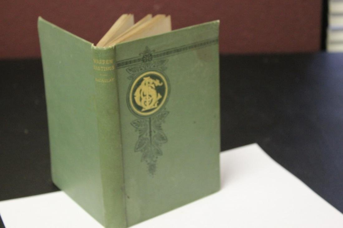 Book - Warren Hastings by Maculay