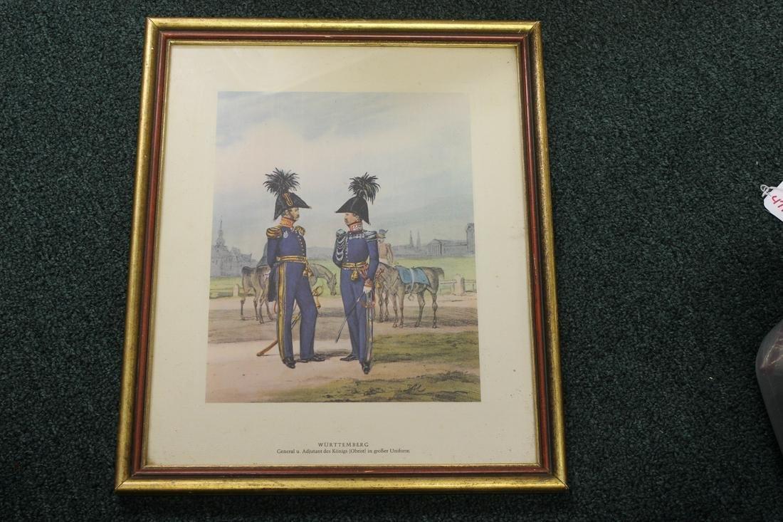 A Vintage Military Print