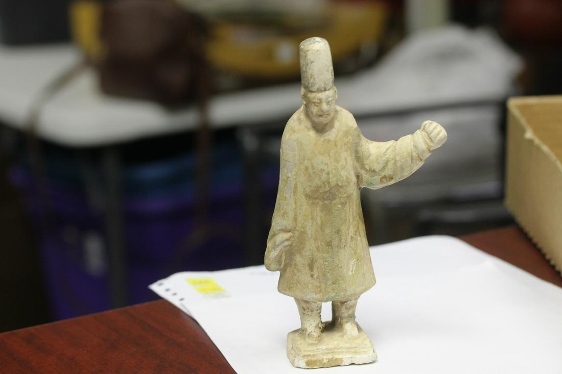 A Ming? Dynasty Pottery Attendant