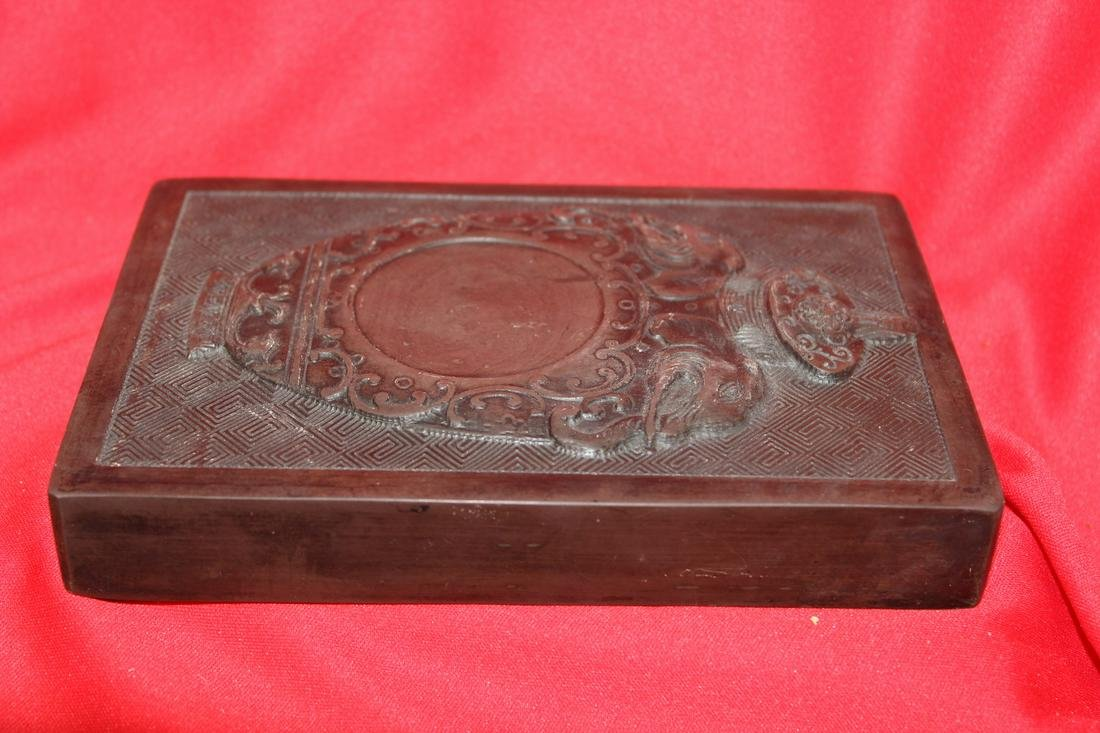 A Well Carved Chinese Ink Stone