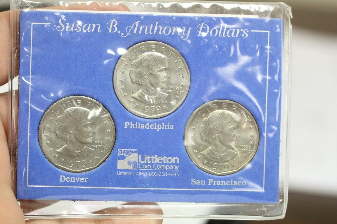 A Susan B. Anthony First Year All Mint Set