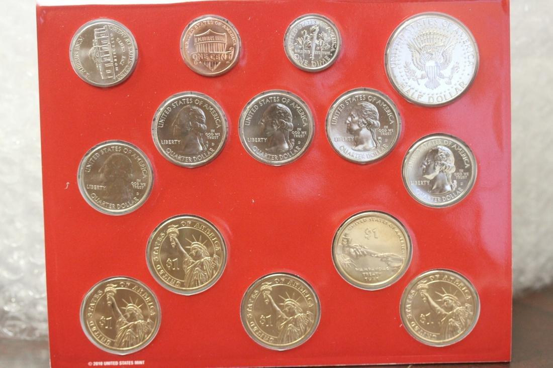 A 2011 Uncirculated Coin Set