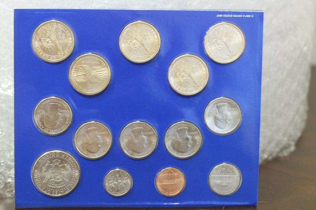 A 2010 Uncirculated Coin Set