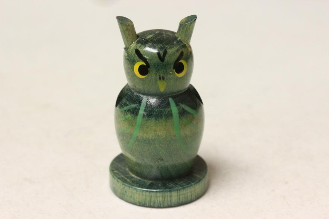 A Counter Point Owl Pencil Holder