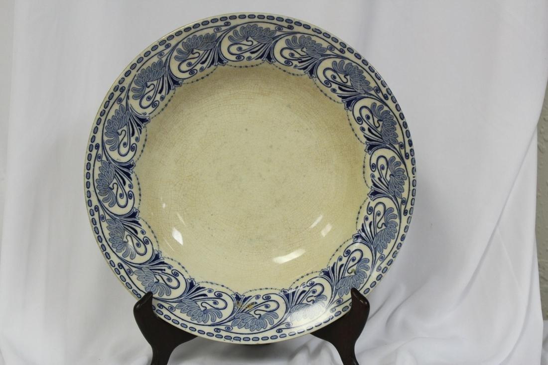 A Flow Blue? Ceramic Bowl