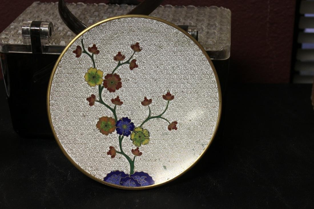 A Cloisonne Plate