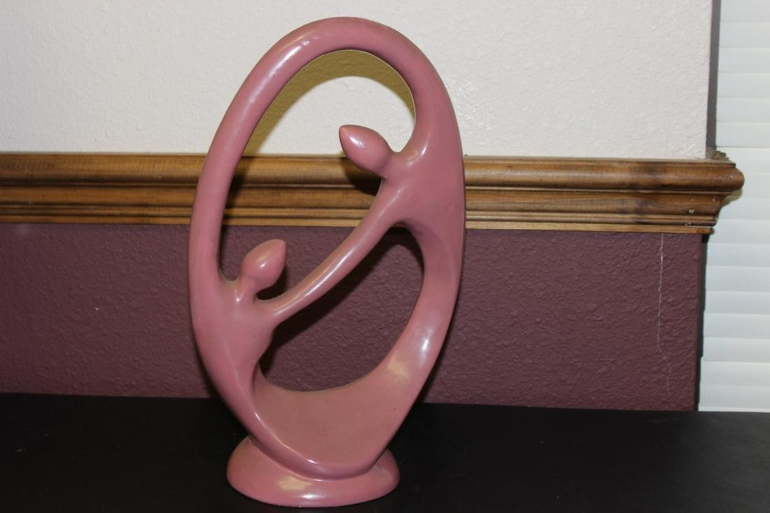 A Ceramic Modern Statue
