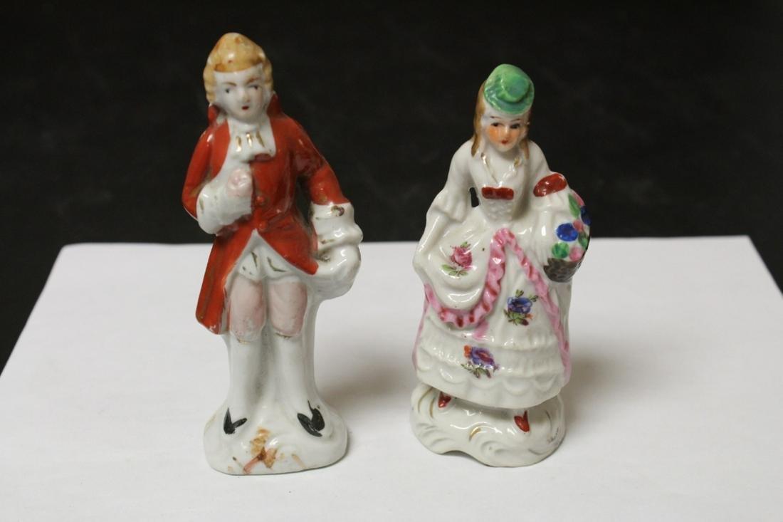 Lot of 2 Ceramic Figurines