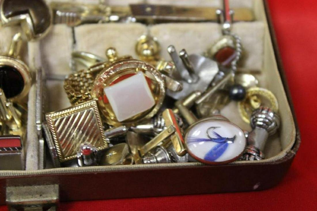 Box of Cufflinks and tie Tags