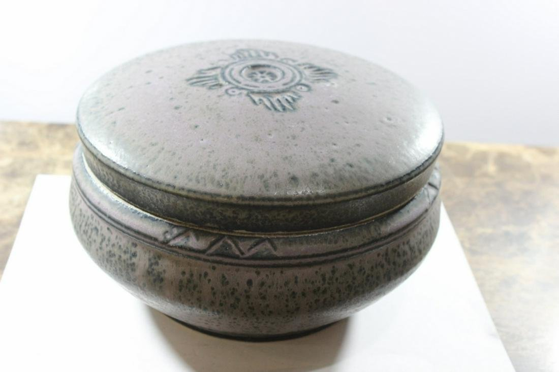 A Marked RT Pottery Jar