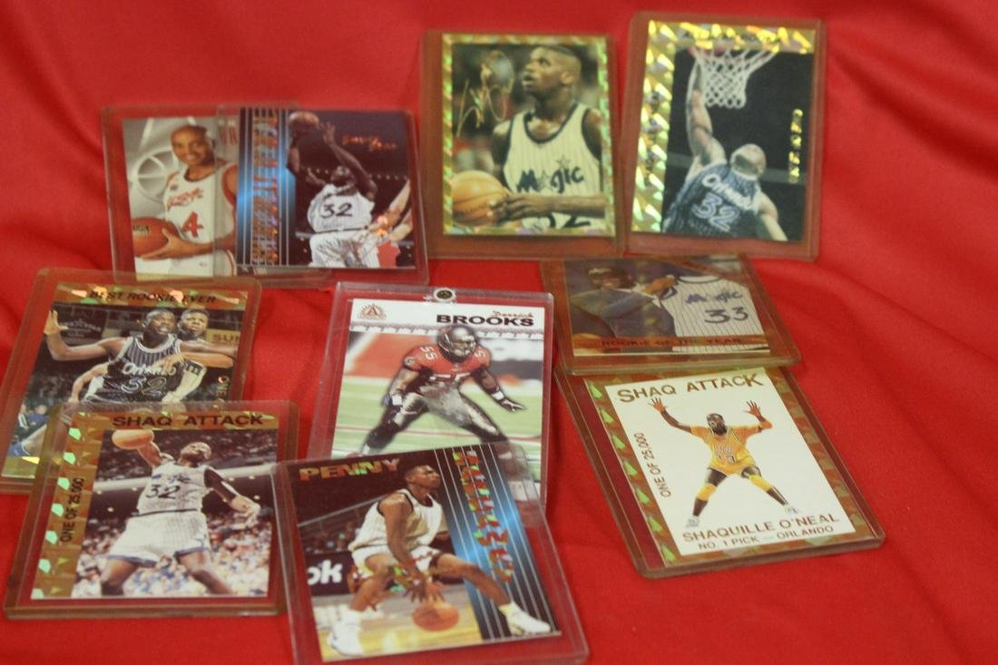 Lot of Ten Sports Cards