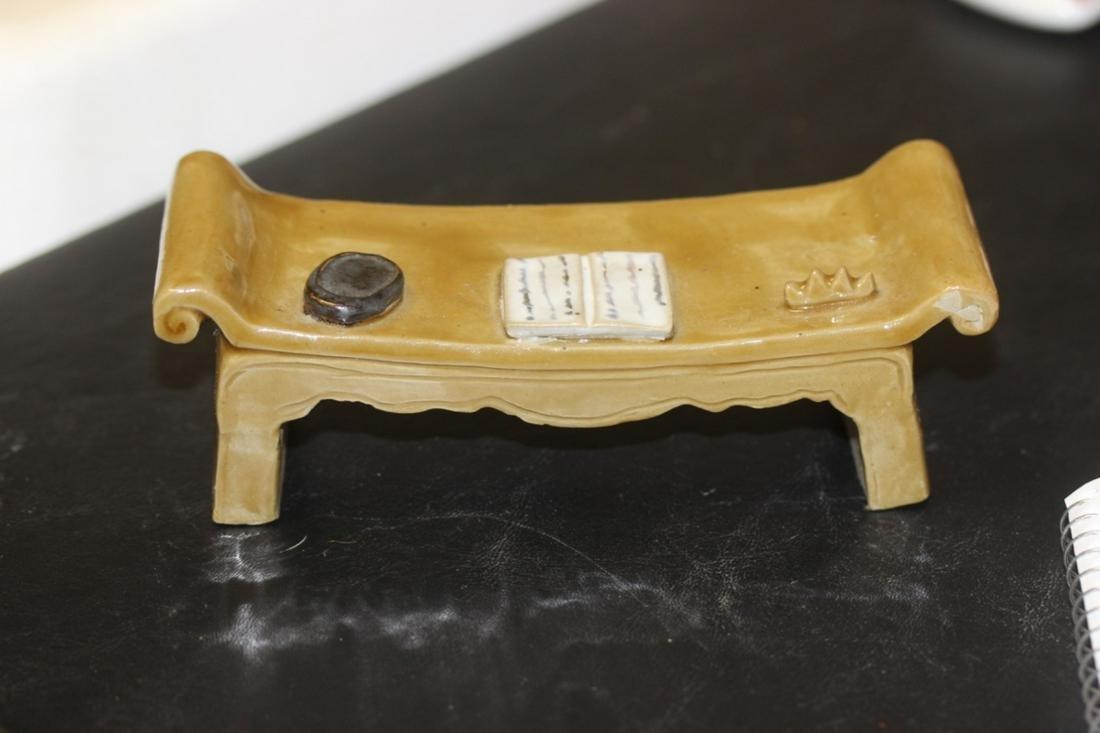 An Oriental Decorative Bench