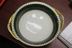 A German Franconia Two Handle Bowl