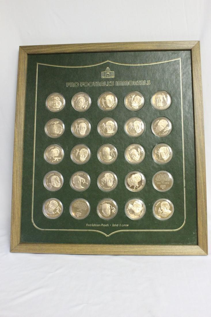 Franklin Mint 1st Edition Bronze Medal Set