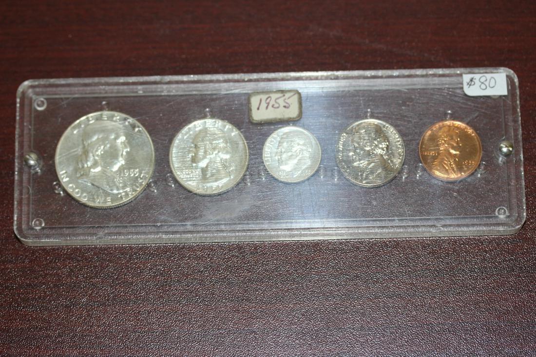 A Rare 1955 US Mint Set