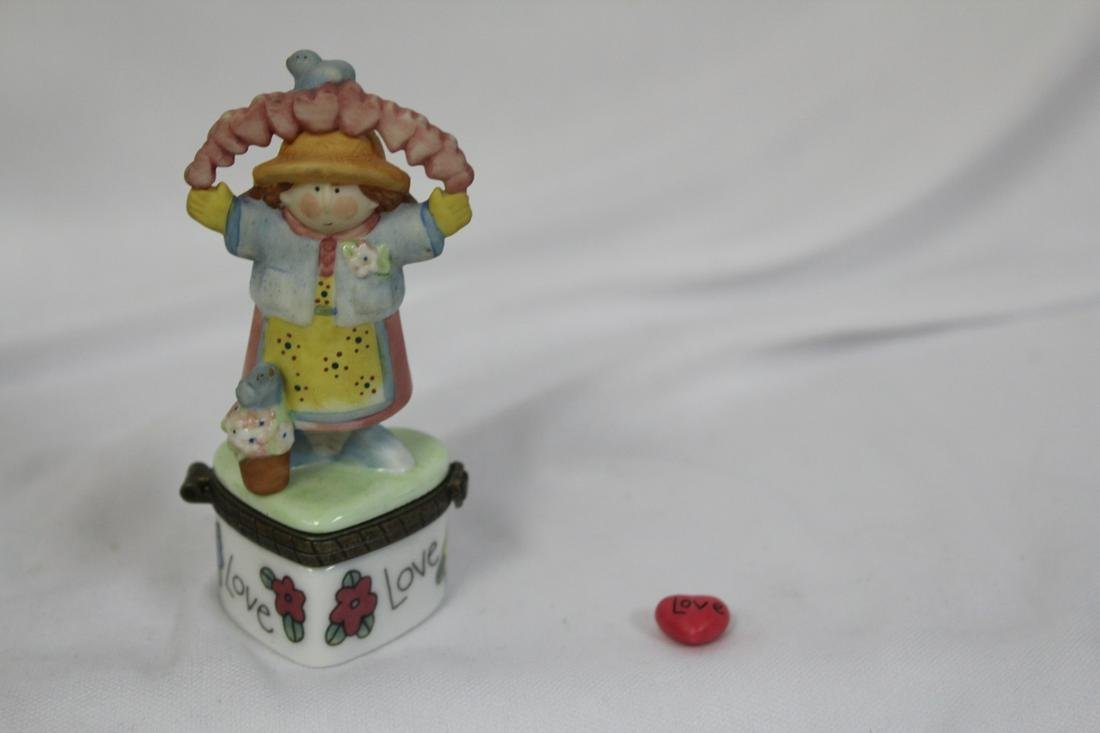 A Marked PHB Ceramic Trinket Box