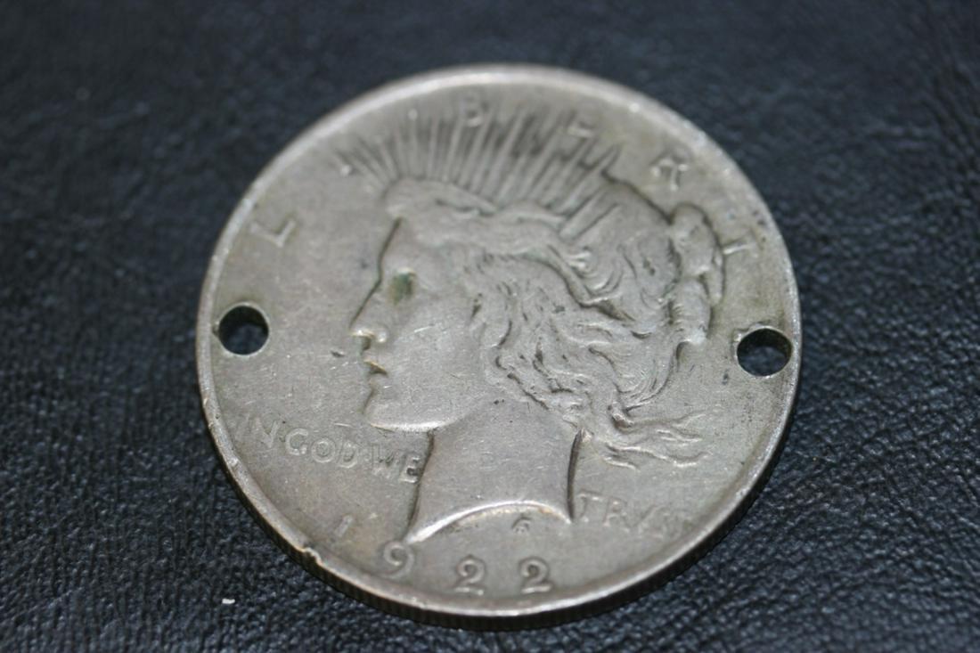 A Silver Peace Dollar - 1922