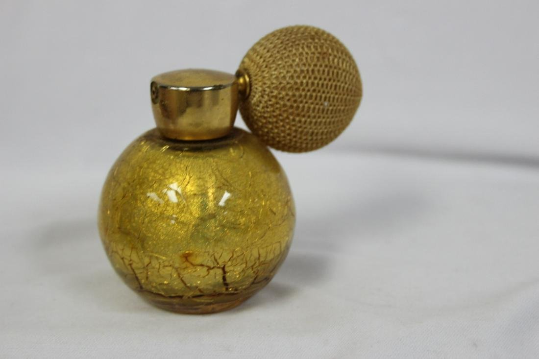 A Vintage Perfume Bottle with Atomizer