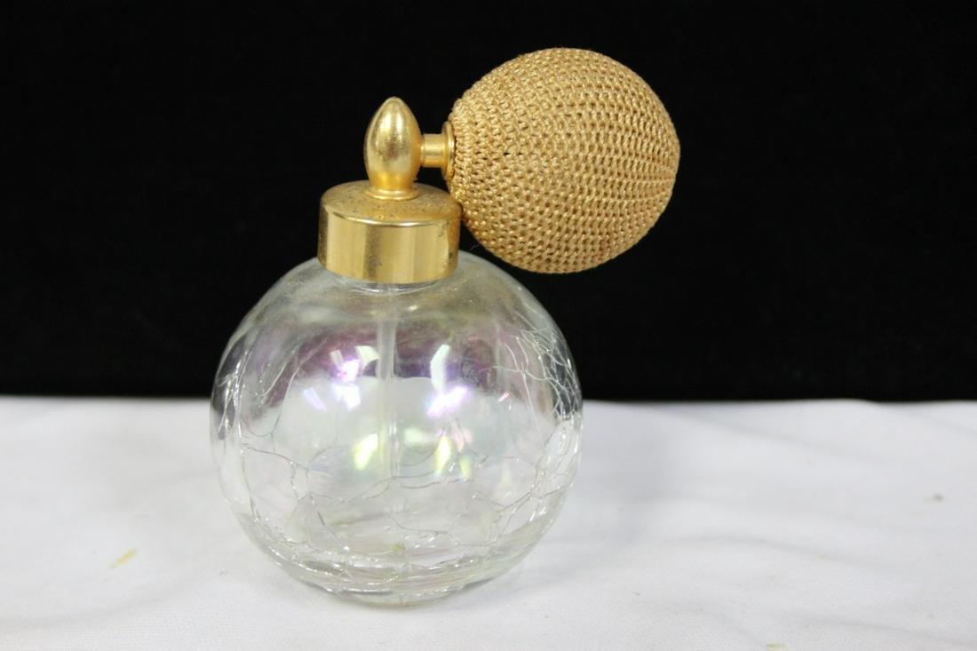 Vintage Perfume Bottle with Atomizer