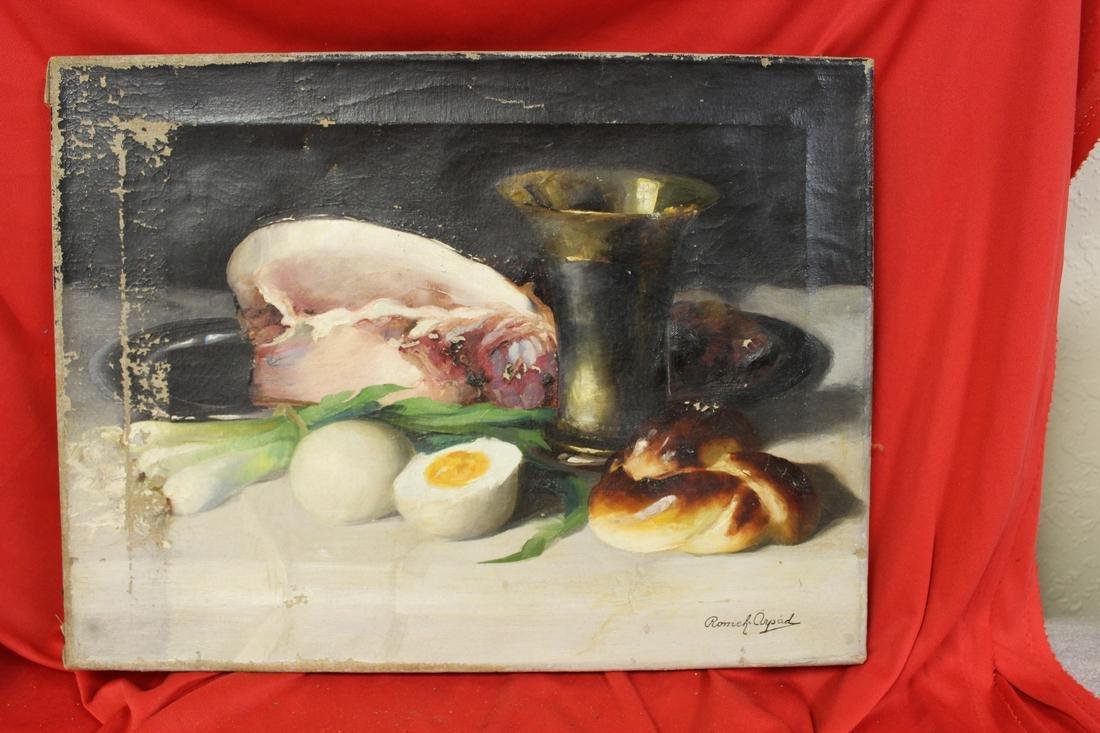 An Oil on Canvas -Still Life