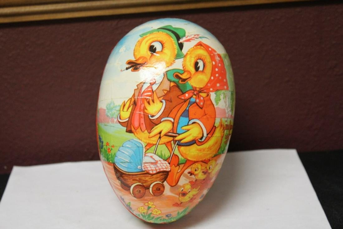 A Paper Mache Egg