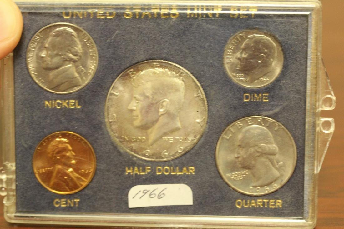 A 1966 US Mint Set