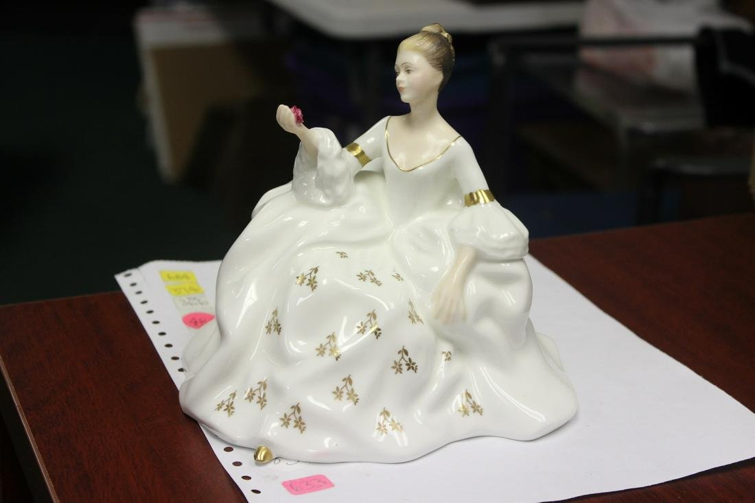 "A Royal Doulton Figurine - ""My Love"""
