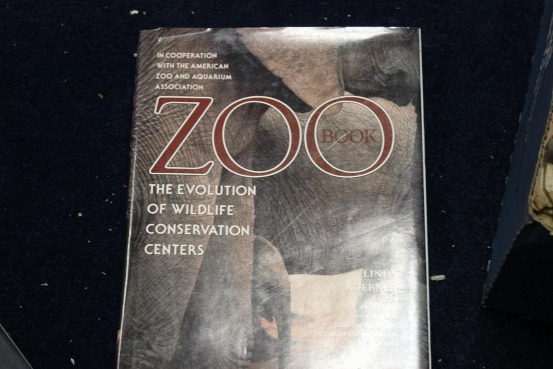 Hardcover Book - Zoo - First Edition