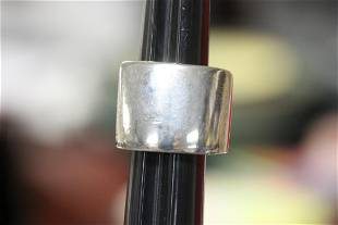 A Heavy Sterling Ring