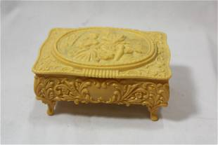 A Celluloid Jewelry Box