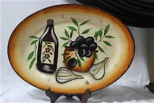 Beau Rivage Large Ceramic Platter