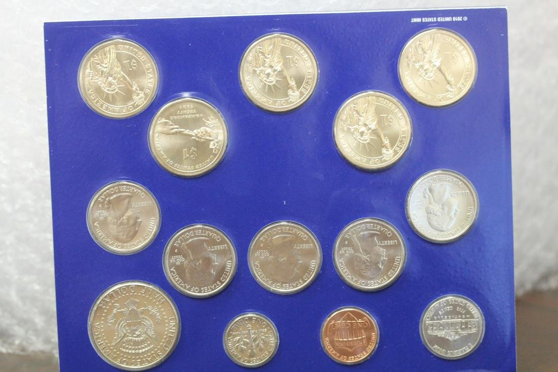 A 2011 Uncirculated Coin Set