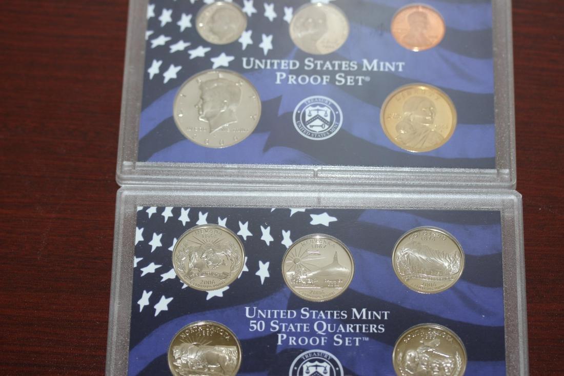A 2006 US Mint Proof Set