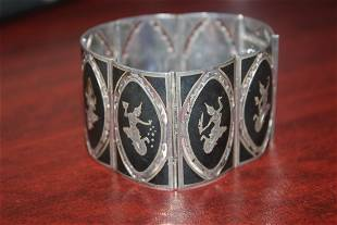 A Sterling Silver ThaiOriental Bracelet