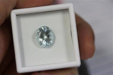 A 4.86 Carat Aquamarine Gemstone