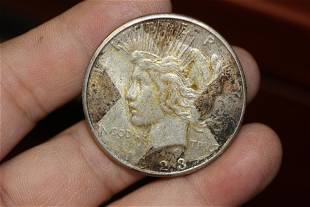A 1923s Peace Silver Dollar