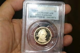 A PCGS Graded PR69 DCAM 2010S 100 Coin