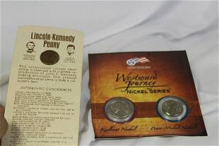 Lot of Two Coin Sets