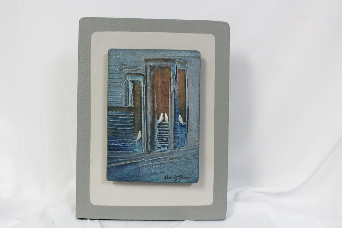 A Small, Listed Artist: Robert Chase Oil on Board