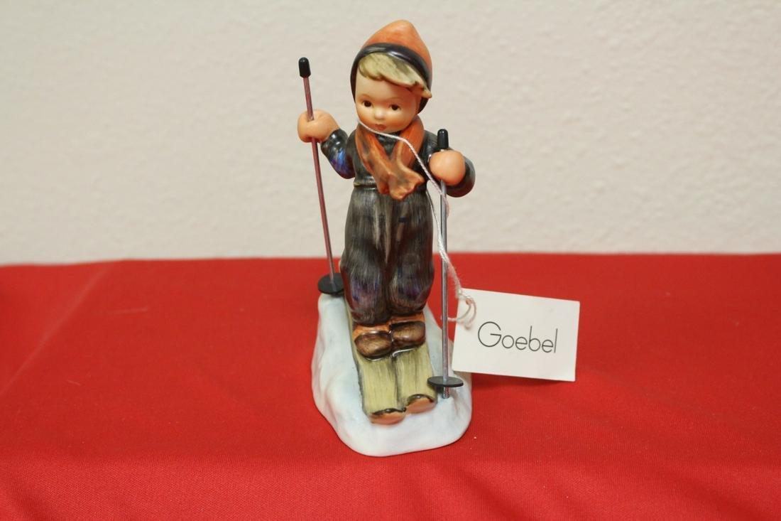 "A Hummel Figurine - Skier"""