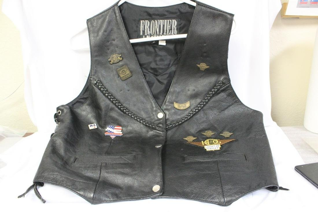 A Ladies Harley Davidson Jacket