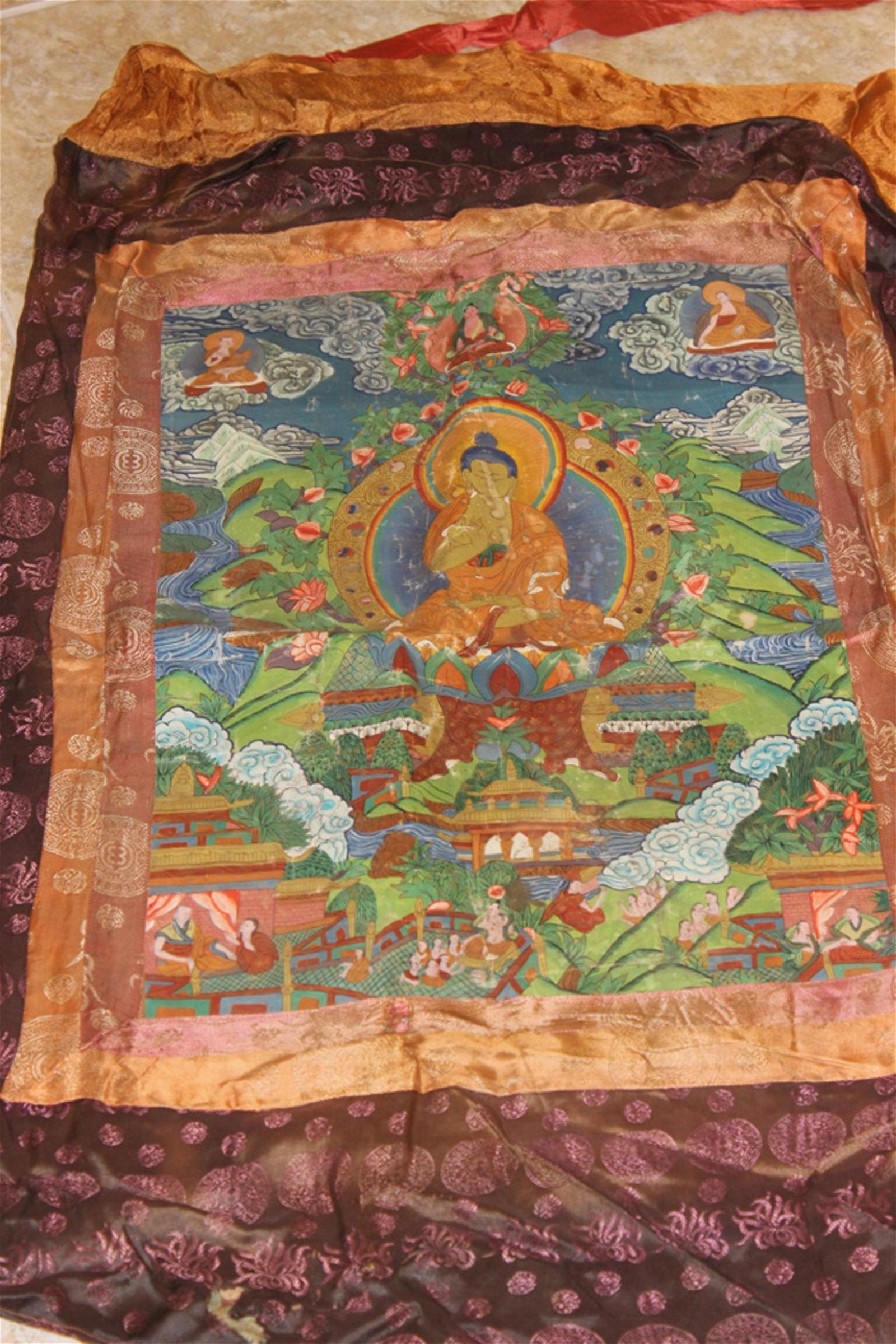 Antique / Vintage Tibetan Thangka