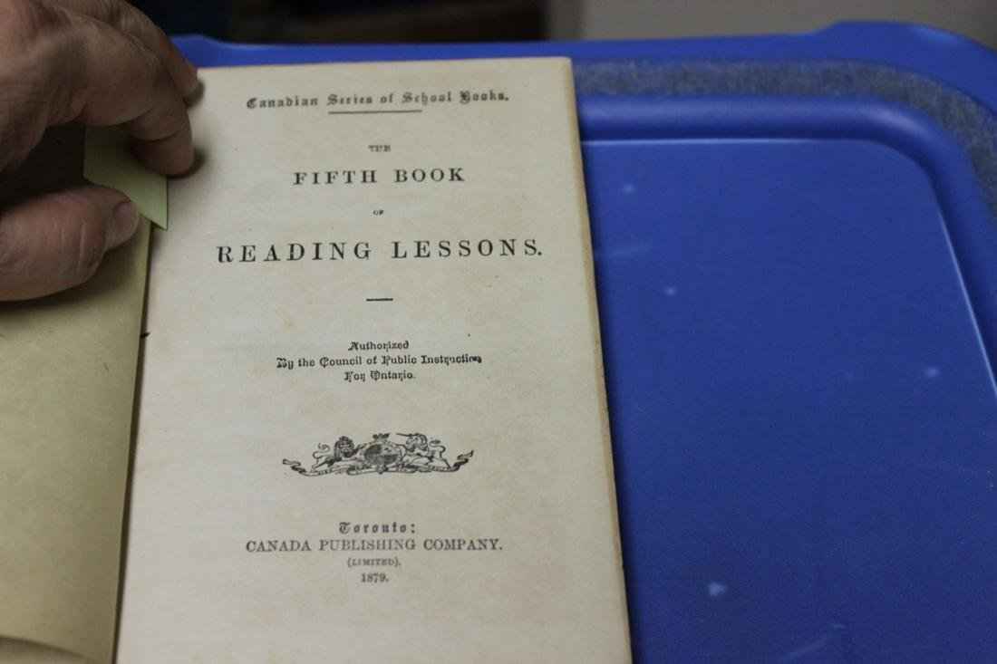 An Antique Hardcover Education Book
