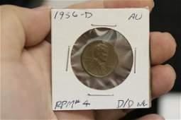 A 1956O Double Die Error Penny