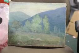An Antique/Vintage Oil on Canvas