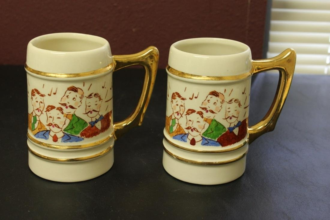 Lot or Set of Two Mugs