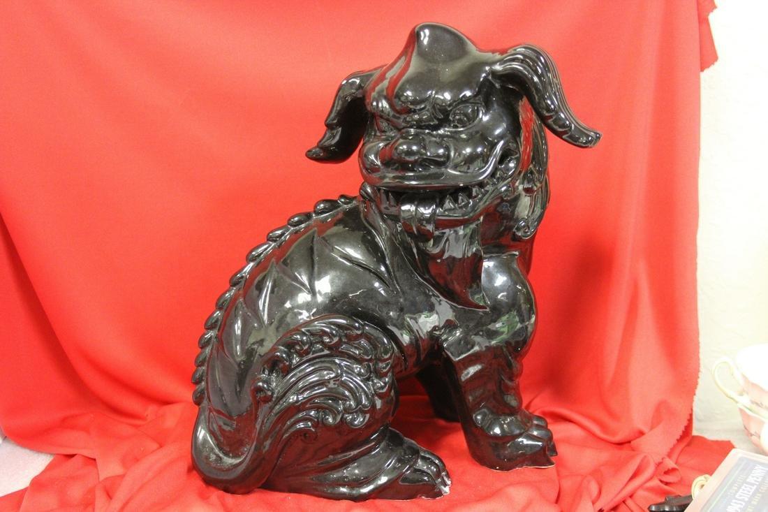 A Decorative Ceramic Foo Lion